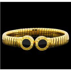 Bvlgari 18KT Yellow Gold Cuff Bracelet