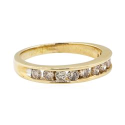 0.50 ctw Diamond Ring - 10KT Yellow Gold