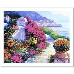 Near Amalfi by Behrens (1933-2014)