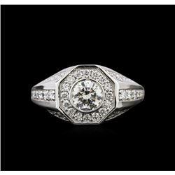 1.64 ctw Diamond Ring - 14KT White Gold