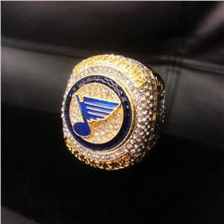 2019 St. Louis Blues NHL Stanley Cup Ring - Reilly Edition
