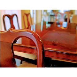 """68""""L x 40"""" W Dining Room Table (includes 18"""" leaf)"""