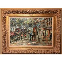 The French Market - Original Oil