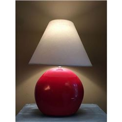 Red Cherry Lamp with Shade