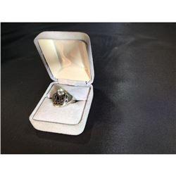 Over 1ct European Round Brilliant Cut Turn-of-Century Diamond Ring