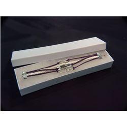 Contemporary Designer Multi-strand Bangle Bracelet
