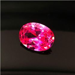 15x20mm Pink Zirconia Sapphire Diamond Emerald Cut, 31.10 Cara