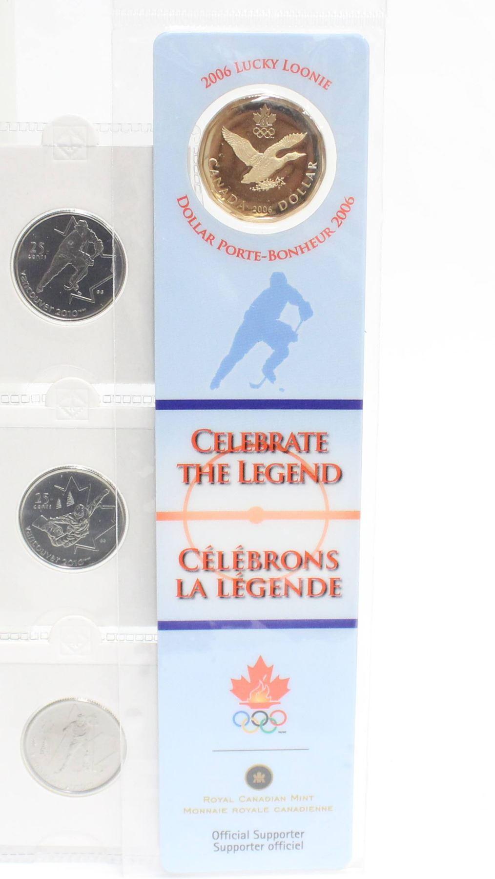 Lucky 25 Cent Quarter