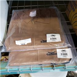 2 NEW CONDOR 2XL BROWN JACKETS