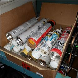 BOX OF CAULK
