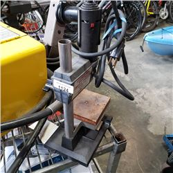 DREMEL ROTARY TOOL ON DRILL PRESS MOUNT