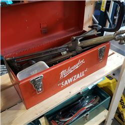 METAL BOX W/ WELDING EQUIPTMENT
