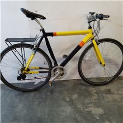 BLACK AND YELLOW GMC BIKE