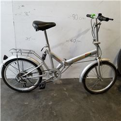 DENCHI WANG FOLDING GREY BIKE