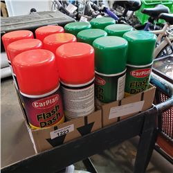LOT OF FLASH DASH AEROSOL CLEANER