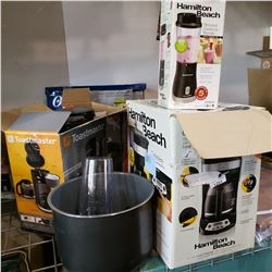 LOT OF KITCHEN APPLIANCES, ALL PARTS ONLY