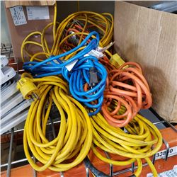 LARGE EXTENSION CORDS TROUBLE LIGHT