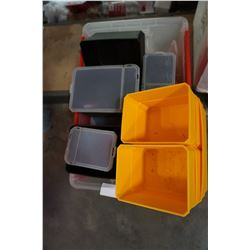 TOTE OF PARTS ORGANIZER BINS