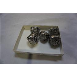 5 NEW REPRO DALLAS COWBOYS SUPERBOWL RINGS