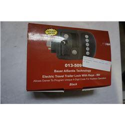 ELECTRONIC TRAVEL TRAILER LOCK W/ KEYS