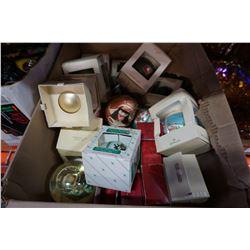 2 BOXES OF XMAS ORNAMENTS