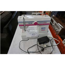 WHITE CLASSIC SEWING MACHINE