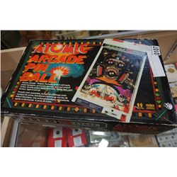ATOMIC ARCADE PINBALL IN BOX