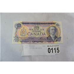 1971 10 DOLLAR BILL