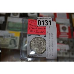 1921 USA MORGAN SILVER DOLLAR .900 PHILADELPHIA MINT