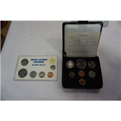 LOT OF 2 CANADIAN MINT COIN SETS