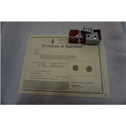 10KT YELLOW GOLD 6mm GENUINE GRAPE GARNET STUD EARRINGS 1.8CTS W/ APPRAISAL $310
