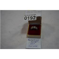 ROTATING RING MARKED 925