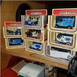 8 DAYS GONE BY DIECAST VEHICLES