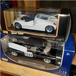3 DIE CAST VEHICLES - MUSTANG, GT90, AND CHRYSLER 300