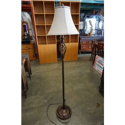 SPIRAL METAL FLOOR LAMP