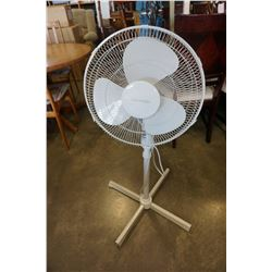 HOMESTYLES WHITE FLOOR FAN