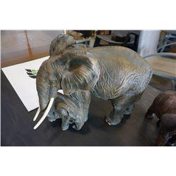 LARGE ELEPHANT FIGURE