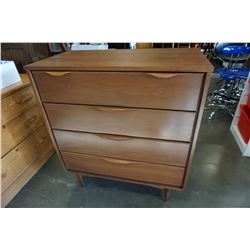 VINTAGE MCM 5 DRAWER CHEST OF DRAWERS