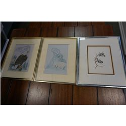 3 FIRST NATIONS PRINTS