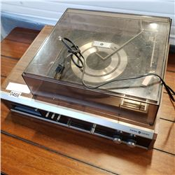 GE SOLID STATE RECORD PLAYER AND 8 TRACK PLAYER