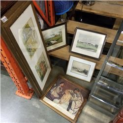 LOT OF VINTAGE PRINTS, SOME LIMITED EDITION