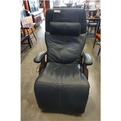 HUMAN TOUCH LEATHER MASSAGE CHAIR WITH CORD
