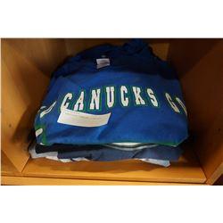8 VANCOUVER CANUCKS T-SHIRTS