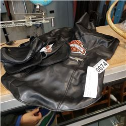 HARLEY DAVIDSON LEATHER DOG OUTFIT