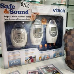 SAFE AND SOUND VTECH DIGITAL AUDIO MONITOR IN BOX