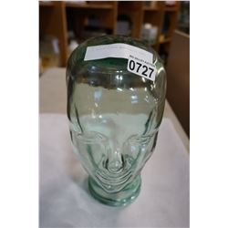1:1 SCALE GLASS MANNEQUIN HEAD