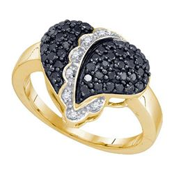 10KT Yellow Gold 0.64CT DIAMOND FASHION RING