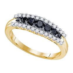 10K Yellow-gold 0.56CTW DIAMOND FASHION BAND