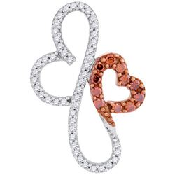 10KT Rose Gold 0.25CTW-Diamond MICRO-PAVE NECKLACE