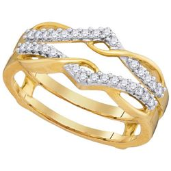 10K Yellow-gold 0.25CTW-Diamond ENHANCER